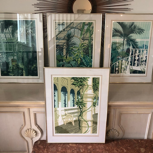 Framed limited edition print by Ken Fleming. 1of 4