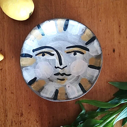 Hand painted bowl by Evelyn Albrow