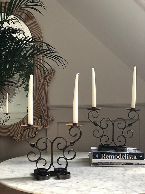 Vintage French Candelabra
