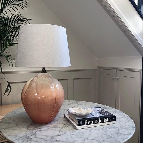 Signed 20th Century Studio Ceramic Lamp
