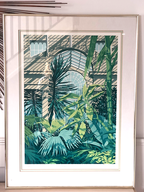 Framed limited edition print by Ken Fleming. 1 of 4