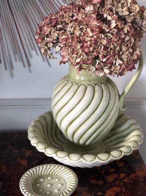 Vintage Ceramic Jug and Basin Set