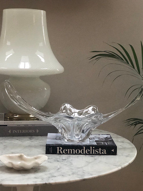 Large Vintage French Art Glass