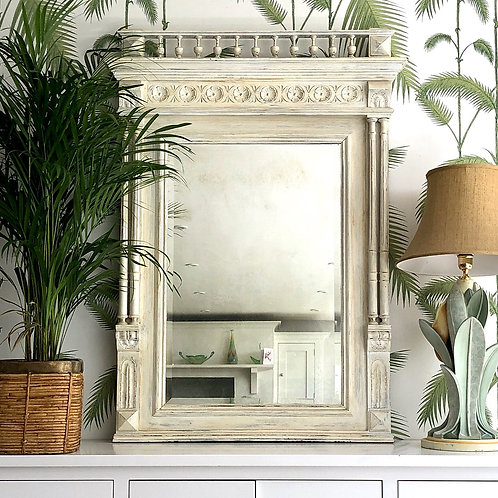 Large Early 20th Century French Mirror