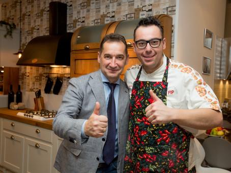 Мастер-класс итальянского шеф-повара Джузеппе Пелузо