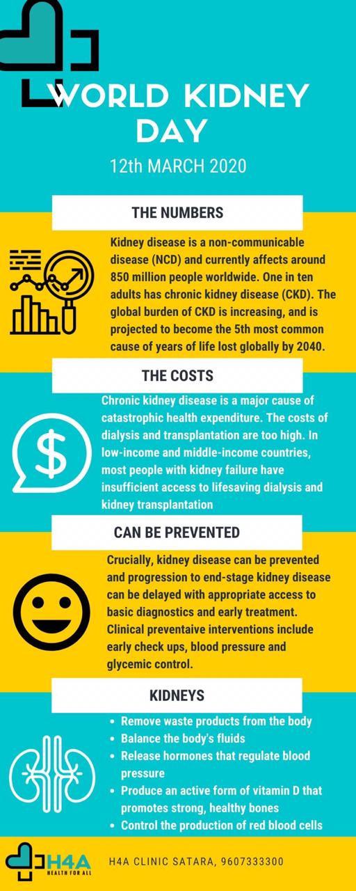 H4A World Kidney Day Inforgraphic