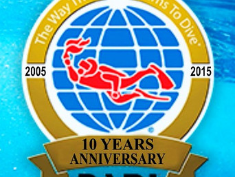 10 anni di PADI