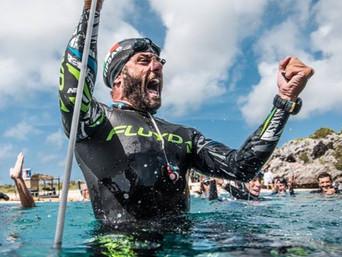 Nuovo record italiano di apnea profonda in assetto costante CWT