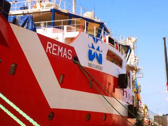 """Attacco di pirateria alla nave """"REMAS"""""""
