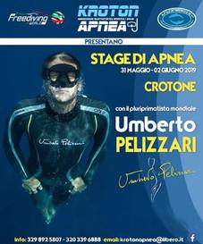 Stage apnea con Umberto Pellizzari a Crotone