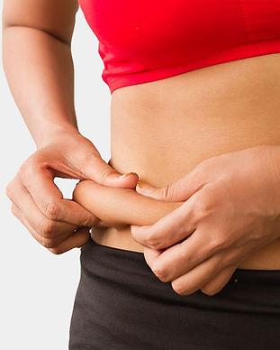 body fat fat dissolver fat pocket abdomen back rolls