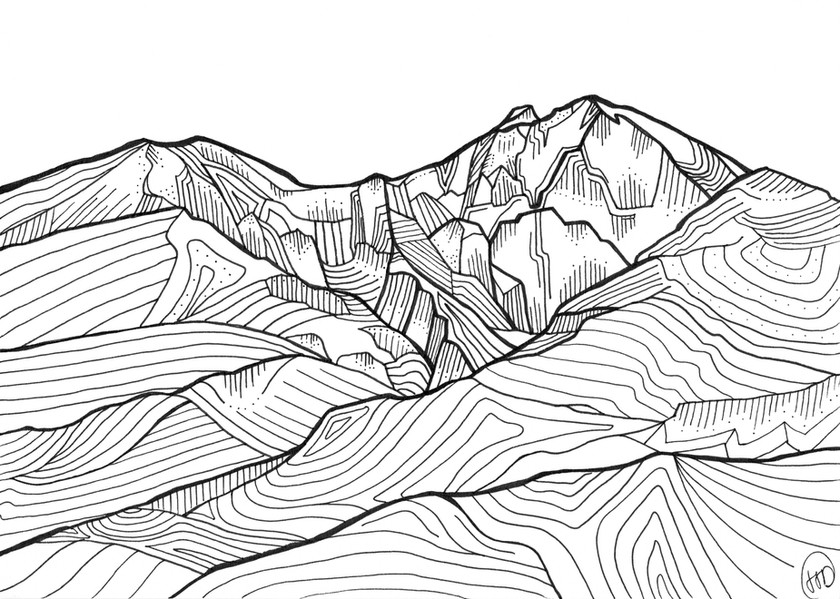 "Long's Peak"""