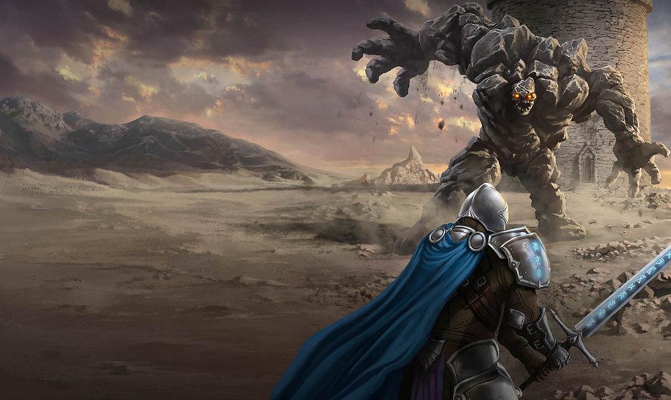 Rune Knight by M.R.Kelly