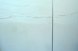 Espace # 412 diptyque (100x100cm)(50x100cm)