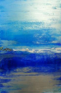 Espace bleu variation # 14 (80x120cm