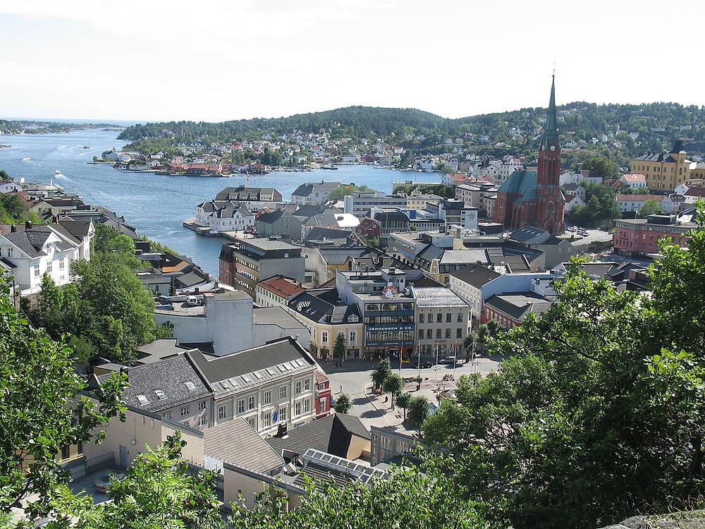 Arendal by - bilde tatt av: Karl Ragnar Gjertsen - Kilde:Wikipedia
