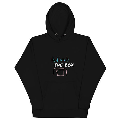 Think Outside the BOX :: Unisex Hoodie