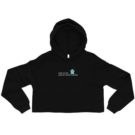 Come HITH-ER Ghost Crop Hoodie