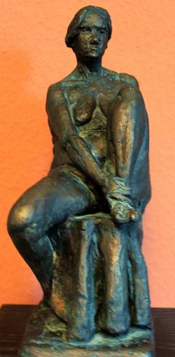 Seated Nude Figure Sculpture Kent UK