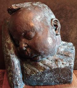 Jessica sleeping Sculpture Kent UK