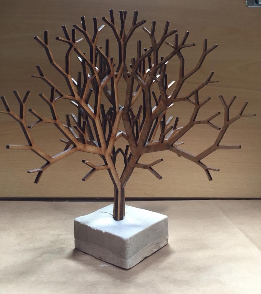 Three dimensional tree