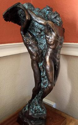 Jacob & the Angel sculpture Kent UK