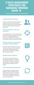 5 Sales Management Strategies For Managing Through Uncertain Times Infographic