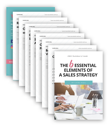 6 Essential Elements Of A Sales Strategy
