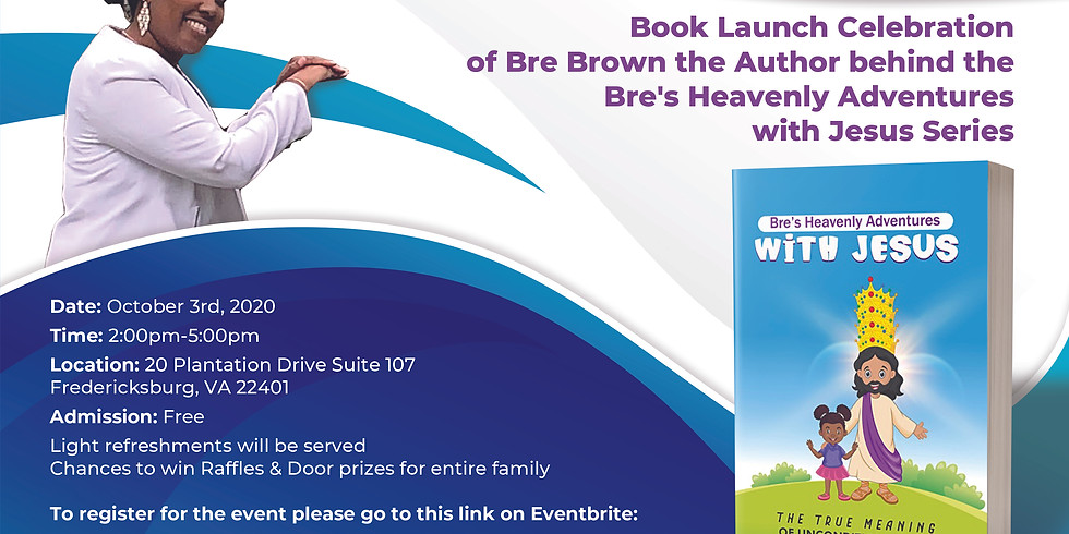 Bre's Heavenly Adventures With Jesus Book Signing