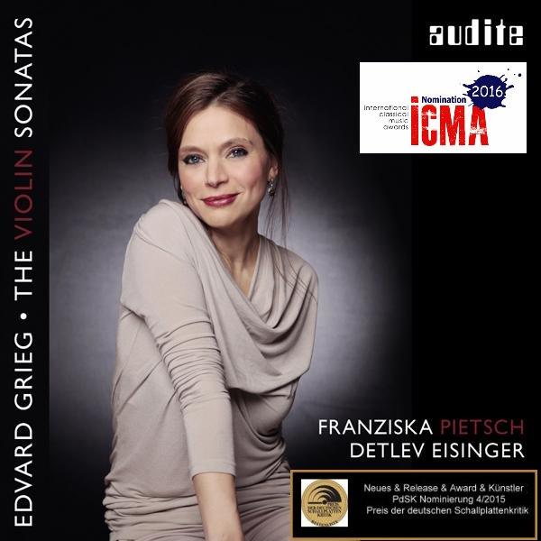 E.Grieg Violinsonaten. Nominierung