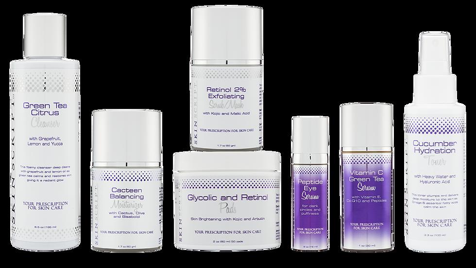 Skin Script Rx Normal/Combination Skin Kit