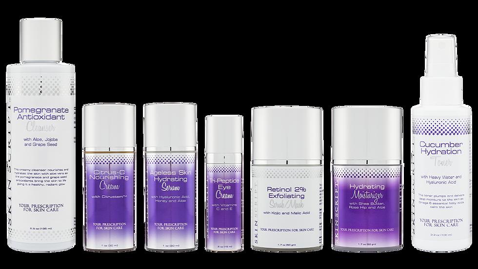 Skin Script Rx Dry Skin Kit