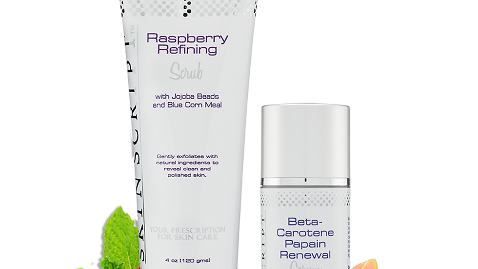 Skin Script Rx Refine & Renew Duo