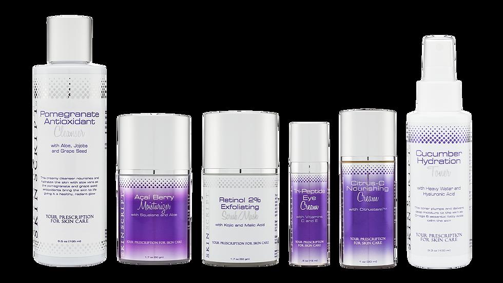 Skin Script Rx Rosacea/Sensitive Skin Kit