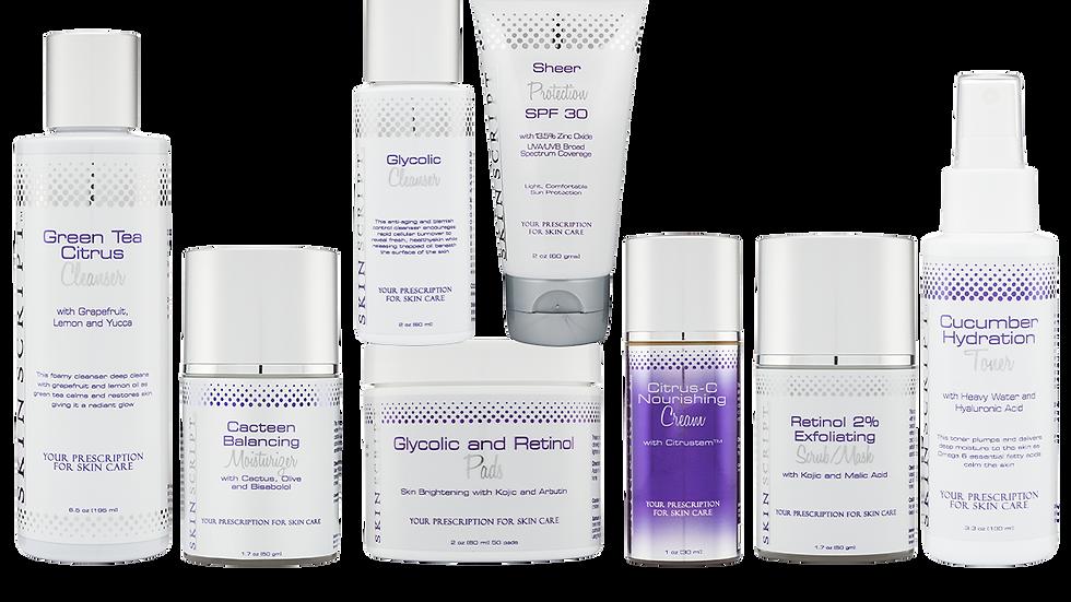 Skin Script Rx Hyperpigmentation Pre/Post Peel Care Kit