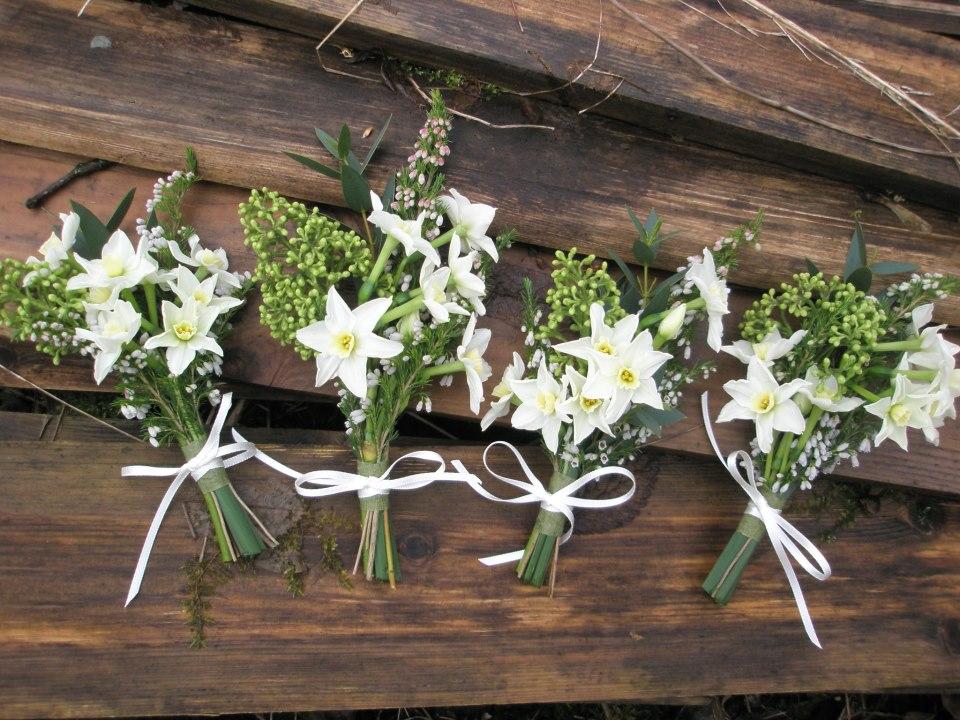 Winter buttonholes