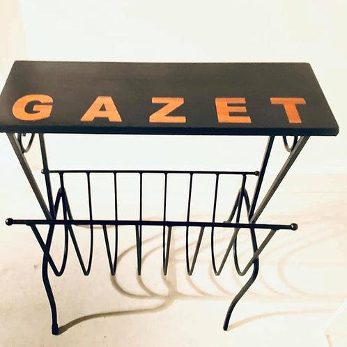 GAZET tafeltje