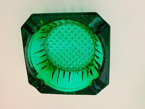 Asbak groen