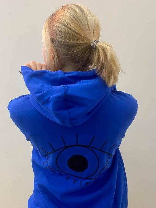 Blue eyes hoodie