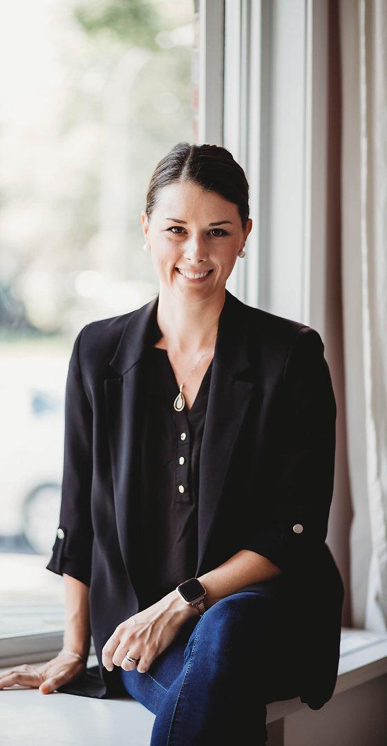 Portrait de Marie-Elyse Forget, fondatrice et experte conseil, M48 Consultation