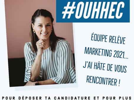 Relève Marketing 2021, délégation HEC Montréal !