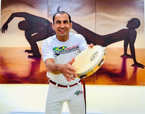 Peninha Melo, maître de capoeira et collaborateur, M48 Consultation