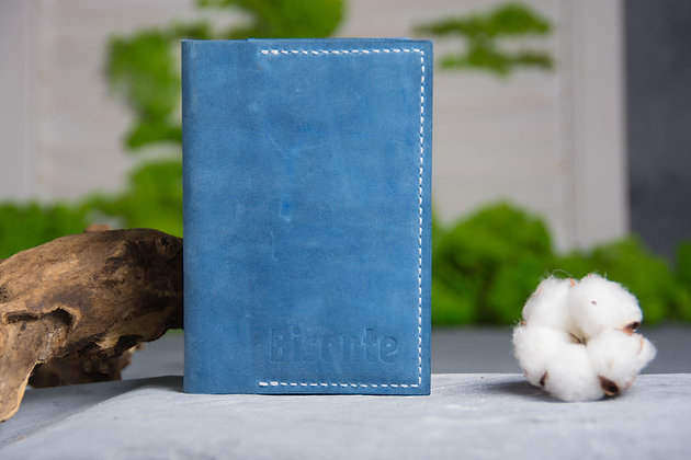 Обложка на паспорт blu