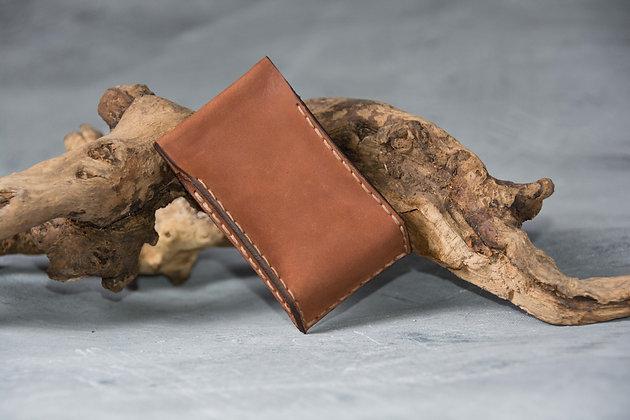 Кожаный портсигар для самокруток в минимализме