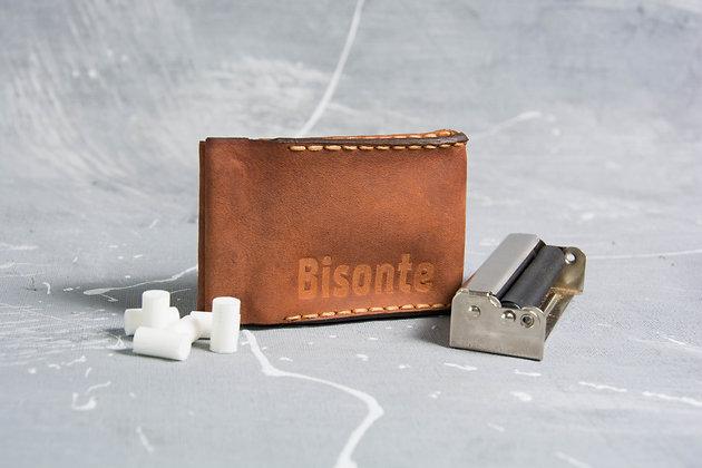Кожаный портсигар для самокруток