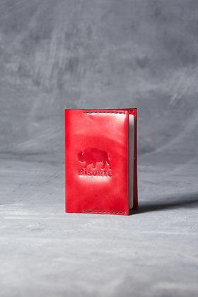 Обложка на паспорт rosso