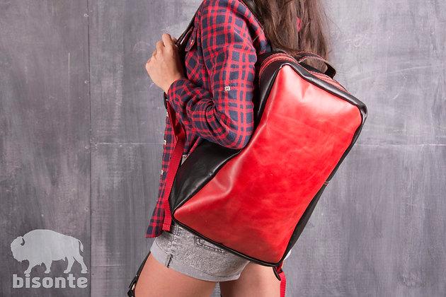 Рюкзак combinare nero e rosso