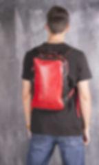 Рюкзак кожаный ручной работы
