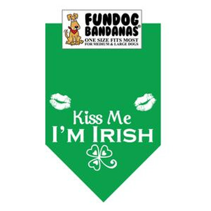 Kiss me, I'm Irish Bandana