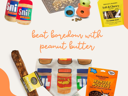 Beat Boredom with Peanut Butter